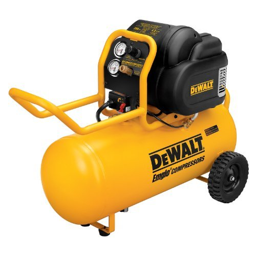 DEWALT Air Compressor D55167 1.6 HP 200 PSI Oil Free High Pressure Low Noise Horizontal Portable Compressor