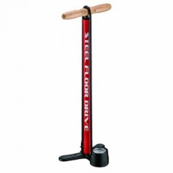 Bicycle Floor Pumps - Lezyne Steel Floor Bike Pump